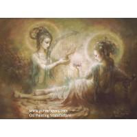2 Chinese godness - Feitian girl painting