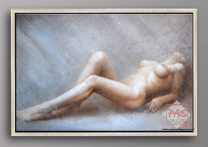 Painting Naked Woman